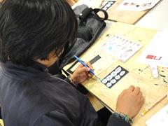 いきいき教室 レザーカードケース