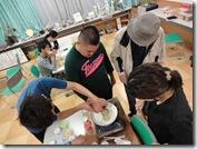 いきいき教室 押し花キャンドル作り