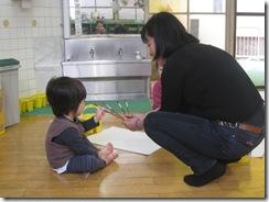 広島市立大町保育園きりん組さん絵画