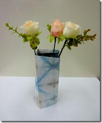 折染め 花瓶シェード