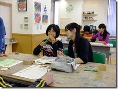 いきいき教室 染色