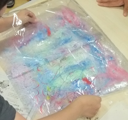 ビニールバッグ制作