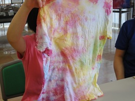 しぼり染め Tシャツ