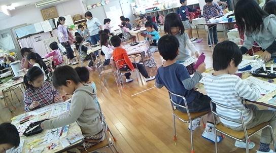 ふじすみれ名刺つくり (9)