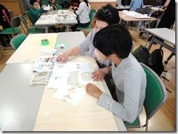 いきいき教室 型染めバック