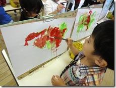 ふくしま保育園 年少さん 絵画