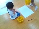 石内保育園 黄組さん 描画体験