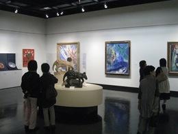 「シャガール展」会場イメージ(札幌会場)