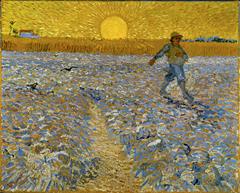 フィンセント・ファン・ゴッホ《種まく人》 1888年 油彩・カンヴァス