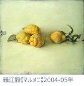 磯江毅《マルメロ》2004-05年