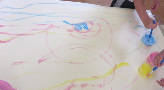 絵の具の活動1