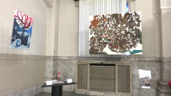 後藤藍子型染め作品。