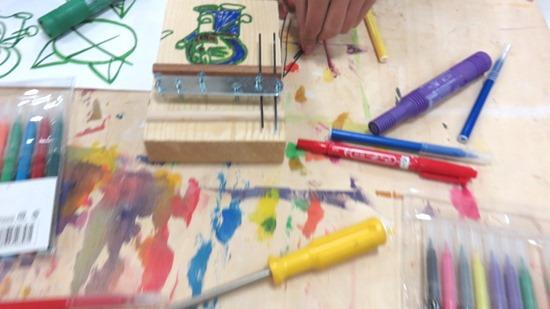 いきいき教室カリンバ作り
