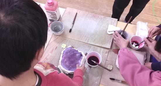 保育園陶芸