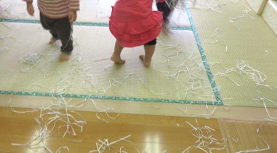 紙と色遊び