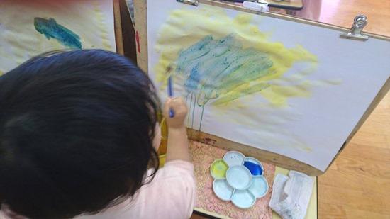 ぞう絵具で遊ぼう (2)