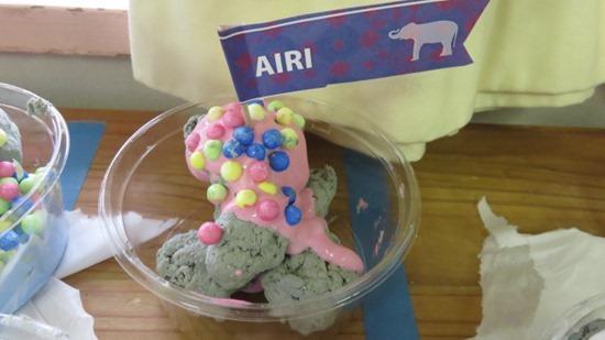 アイスクリームやさんごっこ (4)